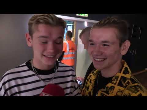 Marcus & Martinus Meeting Manchester United Players In Oslo Norway