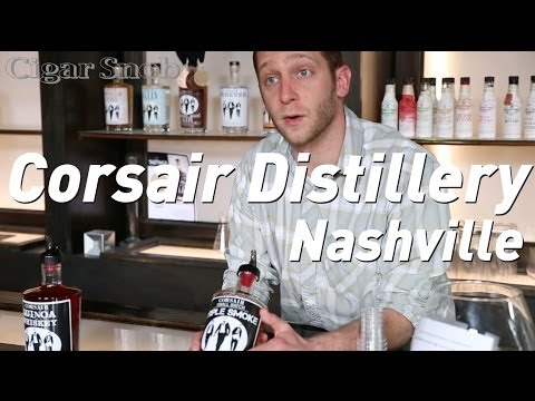 Whisky, gin, rum and more at the Corsair distillery in Nashville