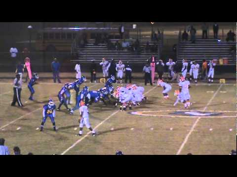 Franklin King 2011 Football Highlights Timmonsville High School QB/DB # 5 C/O 2013