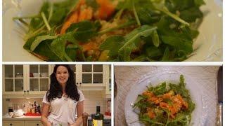 Rentrée 2014   Dîner santé   Salade de saumon et de quinoa