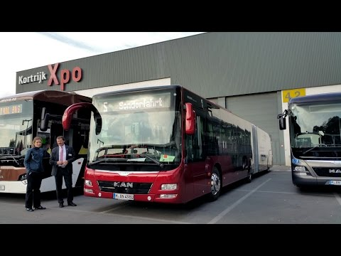 MAN Lion's City G Facelift – Busworld Kortrijk 2015