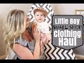 TODDLER AND BABY BOY CLOTHING HAUL | SMALL SHOPS HAUL FOR BOYS