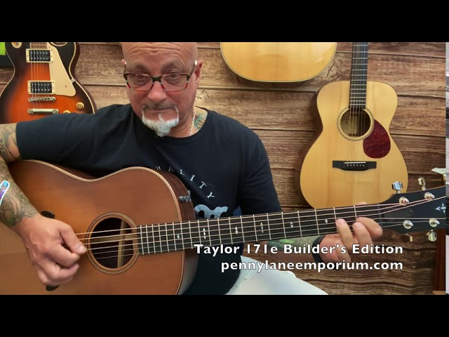 Taylor 717e Grand Pacific Builder's Edition at Penny Lane Emporium