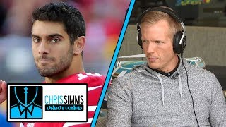 Jimmy Garoppolo should get 49ers back in playoff hunt in 2019  | Chris Simms Unbuttoned | NBC Sports