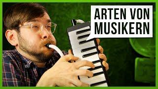 10 Arten von Musikern