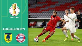 1. FC Düren - FC Bayern München 0:3 | Highlights | DFB-Pokal 2020/21 | 1. Runde