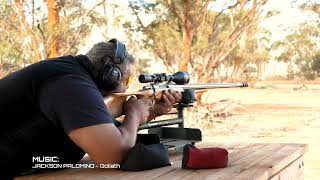 Precision Shooting Australia scope calibration tall target test, 7 May 2021