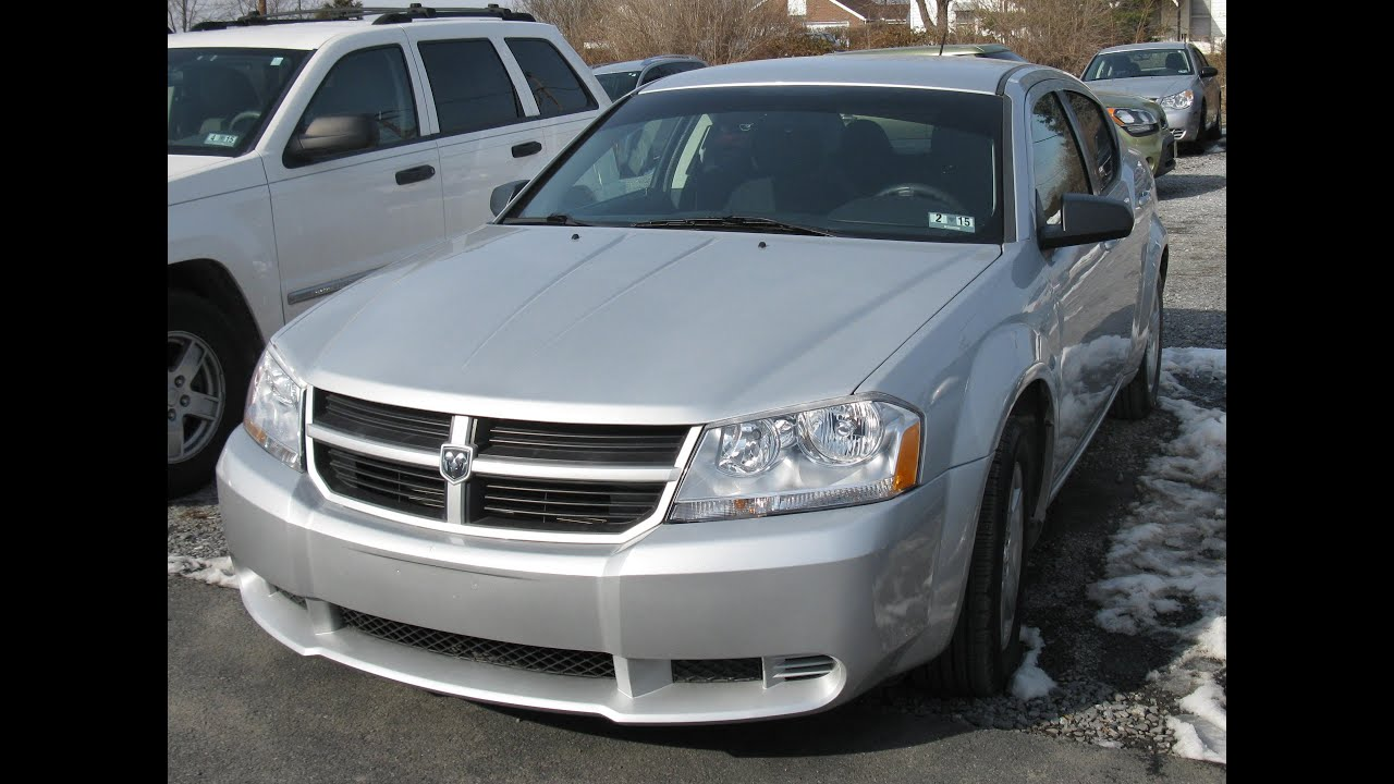 2010 Dodge Avenger Sxt Start Up And Tour Youtube
