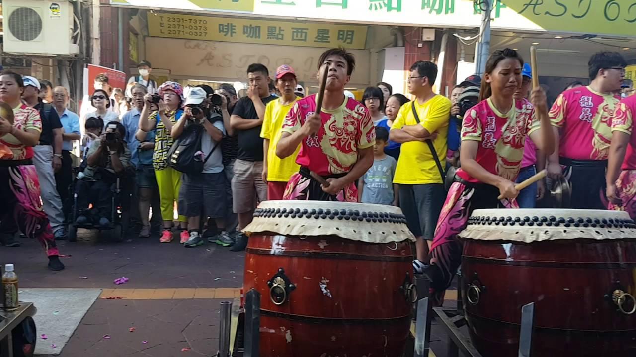 105北臺灣媽祖文化節,龍義會館戰鼓 - YouTube