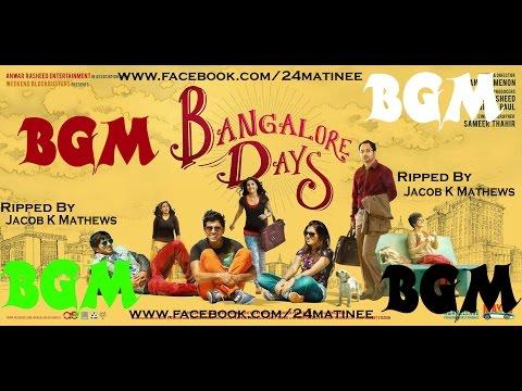 Bangalore Days Full BGM Ripped By Jacob K Mathews