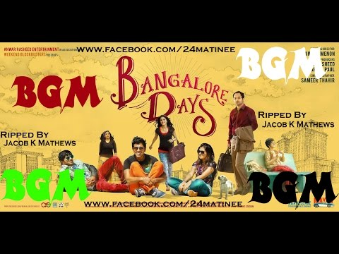 Bangalore Days Full BGM Ripped By Jacob K Mathews