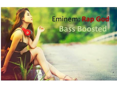 WARNING: EXTREME BASS BOOSTED EMINEM RAP GOD INSTRUMENTAL  [NoCopyrightSound]