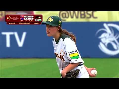 Australia v USA - LG Presents WBSC Women's Baseball World Cup 2016