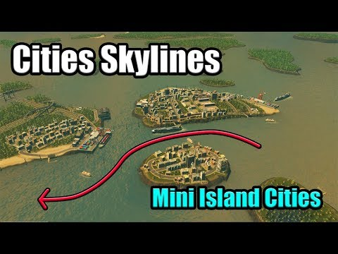 Island Hopping! An Island City with only Boat Connections in Cities Skylines