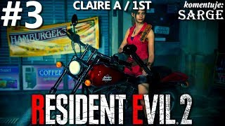 Zagrajmy w Resident Evil 2 Remake PL | Claire A | odc. 3 - Ucieczka | Hardcore S