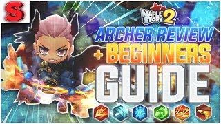 MapleStory 2: Archer Beginner's Guide + Class Review!