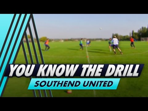 4 v 2 Possession Challenge  | You Know The Drill - Southend United