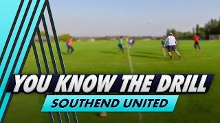 You Know The Drill: 4 v 2 Possession Challenge with Southend Utd