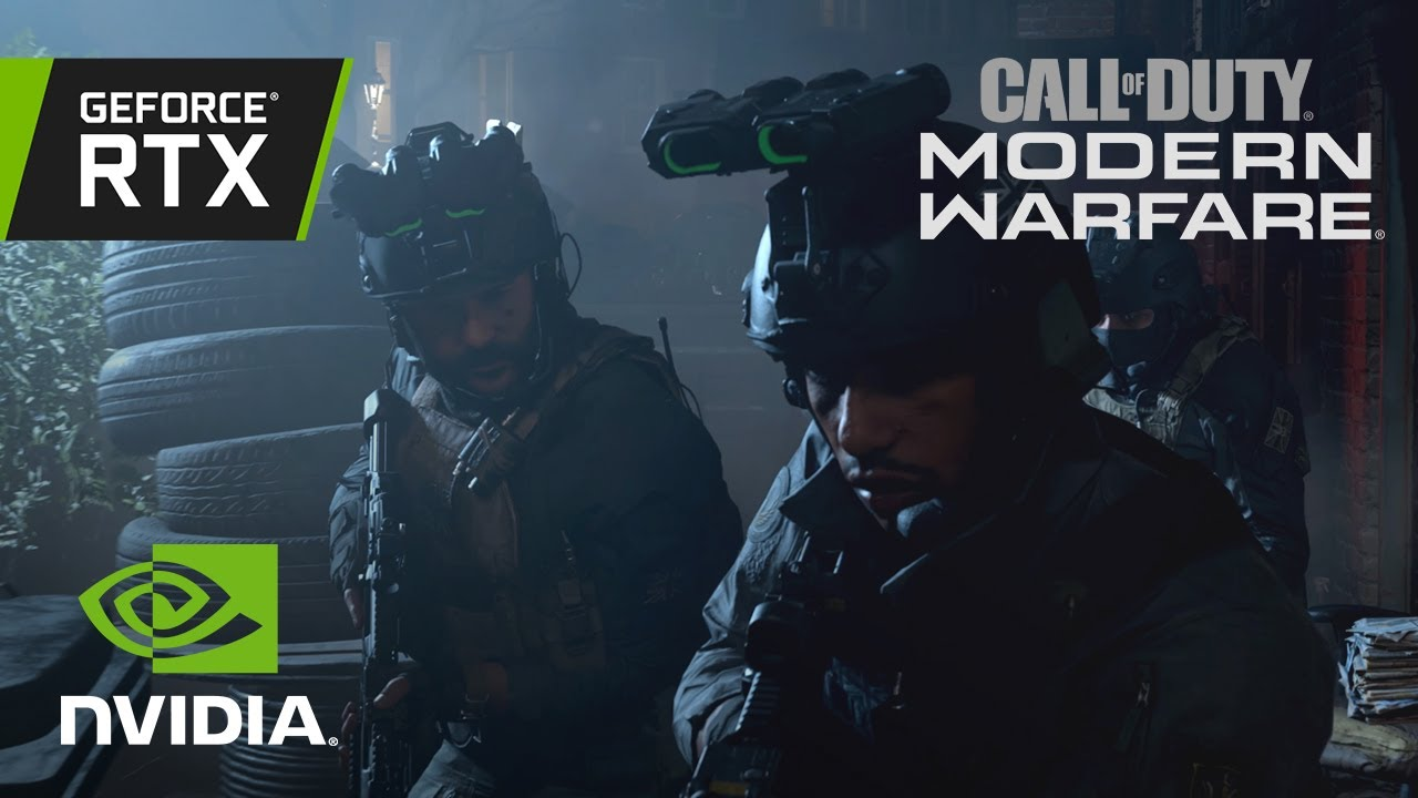 Call of Duty: Modern Warfare | Official GeForce RTX Ray Tracing Reveal Trailer thumbnail