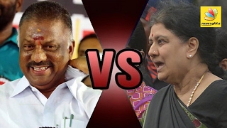 OPS and Sasikala Fight | Latest Press MeeT