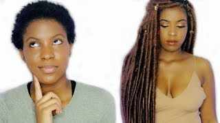 HOW TO: INDIVIDUAL CROCHET LOCS ON SUPER SHORT 4C TWA |BeautyWithPrincess
