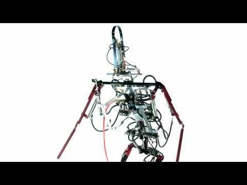 Giant Robot Sings Tom Lehrer Element Song.
