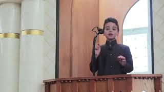 شاهد اصغر طفل يخطب خطبة الجمعة ماشاء الله 😍