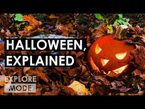 The Origin Of Halloween | Why Do We Wear Costumes For Halloween? | EXPLORE MODE