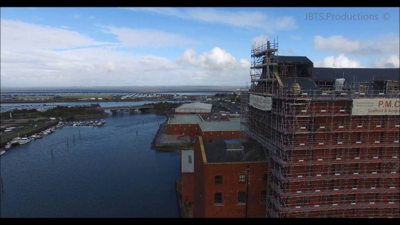 Drone Video Cleethorpes Grimsby