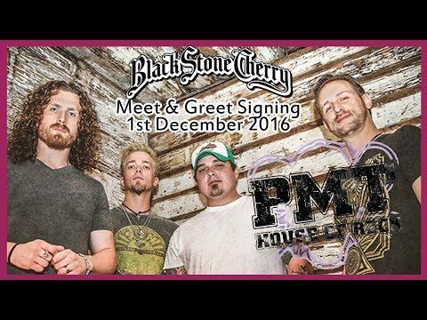 Black Stone Cherry Signing - PMT Nottingham - 1st December 2016
