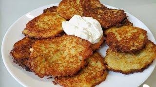 Деруны Драники из картошки Самый лучший рецепт