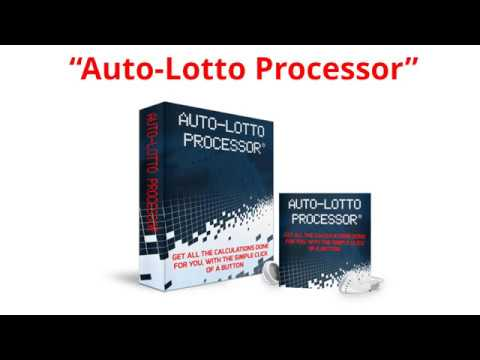 Auto Lotto Processor - Richard Lustig - Autolotto Processor
