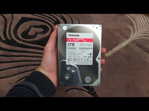 Жорсткий диск Toshiba P300 2TB 7200rpm 64MB HDWD120UZSVA 3.5 SATA III