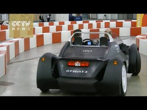 Phoenix-based producer to sell the world's first 3D-printed car
