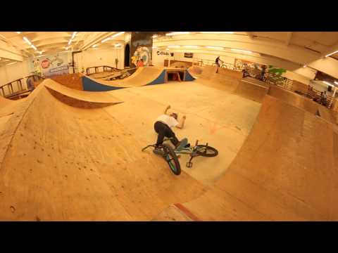 Man Knocks Himself Out After 360 BMX Spin