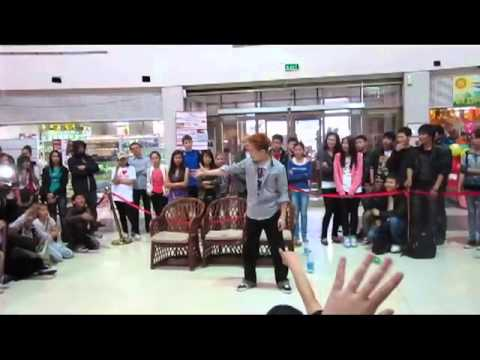 Dokyun popping showcase Bishkek Dance Battle vol.3 2012
