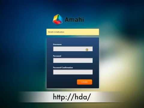 Express Disc Install -- Amahi Videos