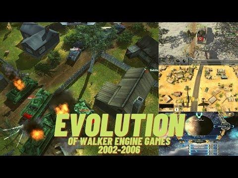 Evolution of Walker Engine Games 2002-2006 |