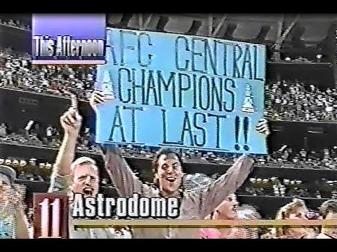 Astrodome Football Memories  1987-1992