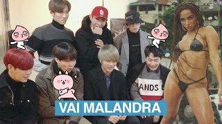 Korean Idols React to Anitta - Vai Malandra ft. BLANC7