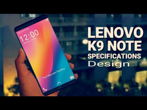 Lenovo K9 Note Design And Specifications Leaks