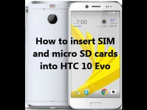 how to insert a sim card into an iphone how to insert sim and micro sd cards into htc 10 evo 21377
