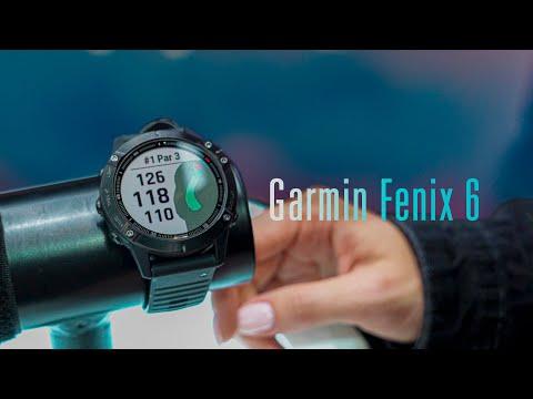 Знакомство с Garmin Fenix 6 / 6X