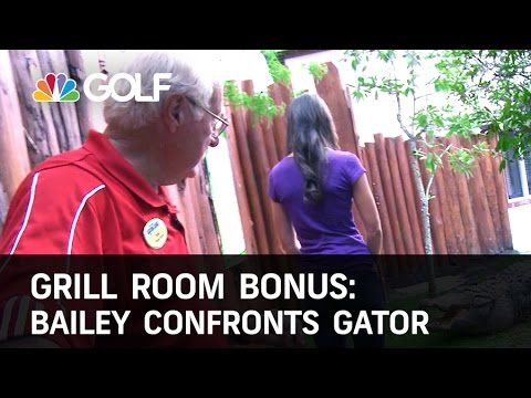 Grill Room Bonus: Bailey Visits Gatorland | Golf Channel