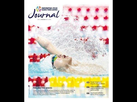 PHOTOGRAPHY : Inilah Foto-foto Cover 2018 Asian Para Games Journal