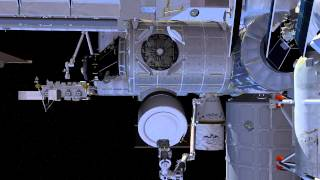 Bigelow Expandable Activity Module Installation Animation