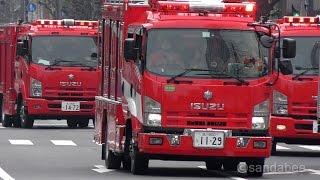 間違った119で道路の向かい側へ消防車両が臨場した後、ほんとうの火災現...