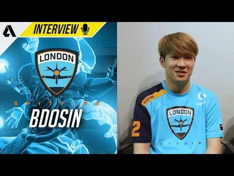 London Spitfire Bdosin On How Foreign Teams Are Scarier Than Korean Teams   OWL Interview thumbnail