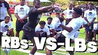???????? RBs v LBs | Nike | The Regionals | South Florida | UTR Highlight Mix 2018