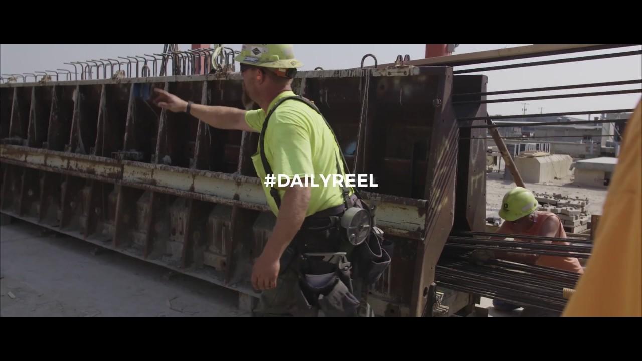 Making Bridge Girders, Oldcastle Precast - #DAILYREEL 031